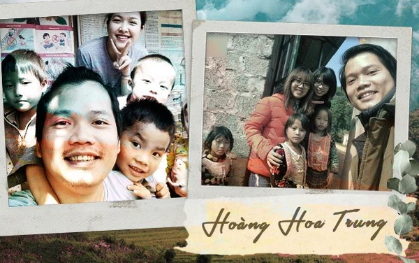 Hoàng Hoa Trung: Đam mê tình nguyện và ước mơ xây dựng nhiều điểm trường cho trẻ em vùng cao