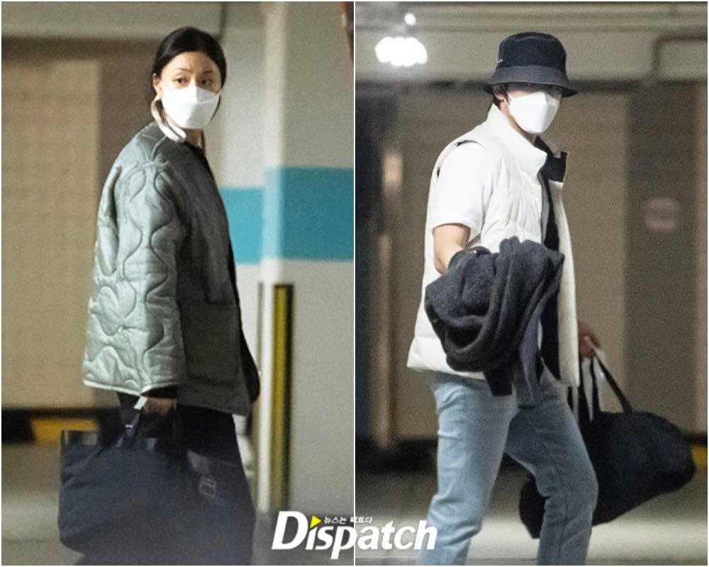 Seo Ji Hye và Kim Jung Hyun Hạ cánh nơi anh hẹn hò 1 năm