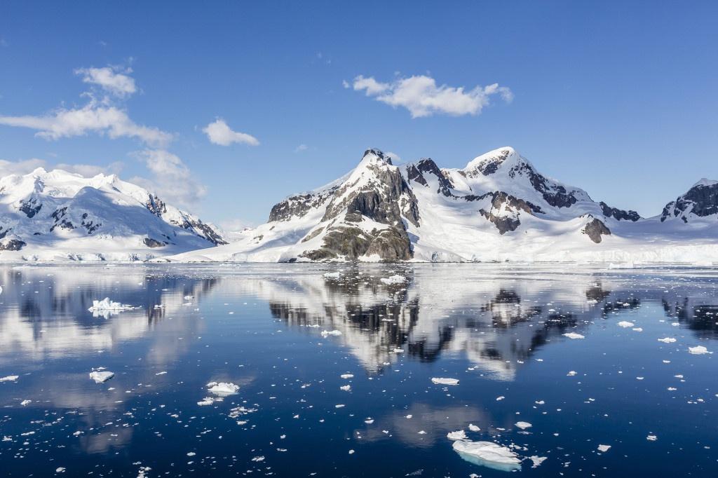 Nam Đại Dương nằm ở vị trí nào trên bản đồ thế giới?