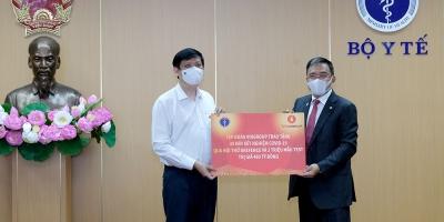 Tập đoàn Vingroup tiếp tục trao tặng Bộ Y tế 30 máy xét nghiệm COVID-19 qua hơi thở