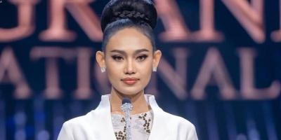 Hoa hậu Hòa bình Myanmar đã nói gì tại Miss Grand International trước khi bị quân đội ban lệnh truy nã