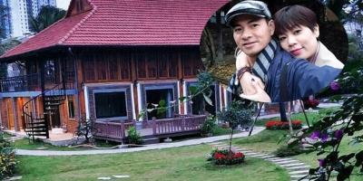 Cận cảnh biệt phủ rộng thênh thang của nghệ sĩ Xuân Bắc: 4 mặt gỗ tự nhiên, sân vườn kết cấu như resort