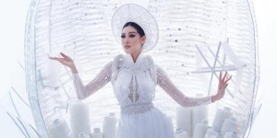 Chiêm ngưỡng màn 'bung kén' thần sầu của Khánh Vân tại Miss Universe 2020