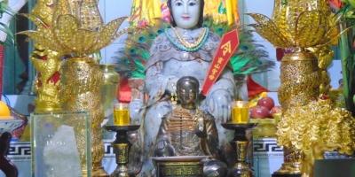Truyền thuyết về Linh Sơn Thánh Mẫu thờ ở núi Bà Đen Tây Ninh