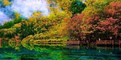 Lạc bước đến 'thiên đường' Cửu Trại Câu ngắm phong cảnh đẹp tựa tranh vẽ