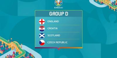 Lịch trực tiếp bảng D EURO 2020 theo giờ Việt Nam mới nhất