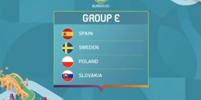 Lịch trực tiếp bảng E EURO 2020 theo giờ Việt Nam mới nhất