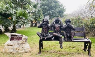 Triết lý thâm thúy ít người biết phía sau hình tượng 'bộ khỉ tam không'